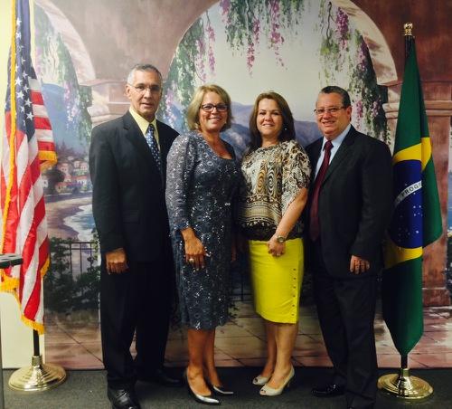Bp. Jamir Carvalho, Miss. Mara S. Carvalho, Rev. Josue Carvalho, Miss. Fabiani Carvalho